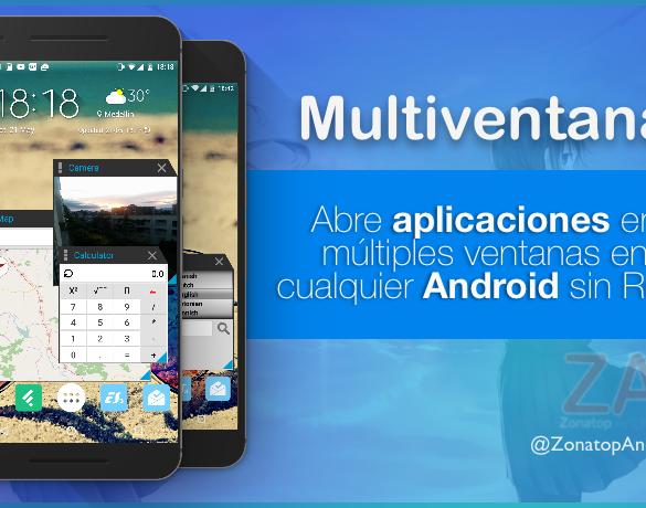 Multiventana multitarea Android