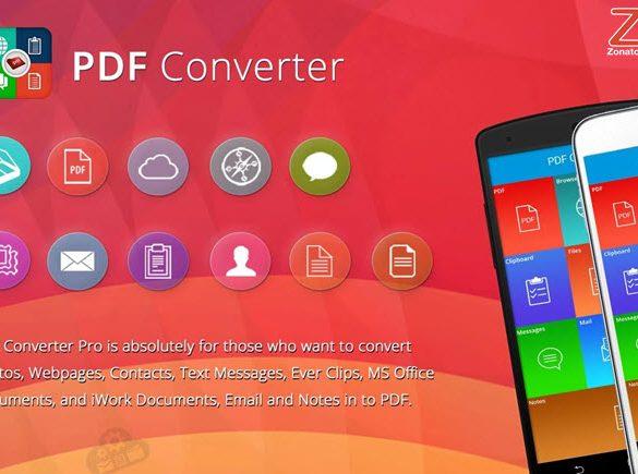 convertir PDF Android gratis