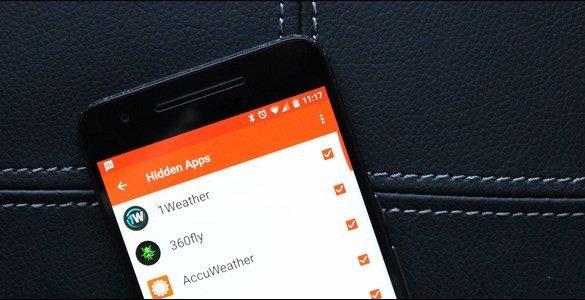 ocultar apps Android