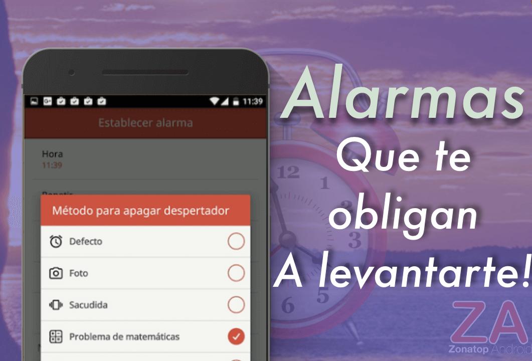 aplicaciones de alarma y despertador android