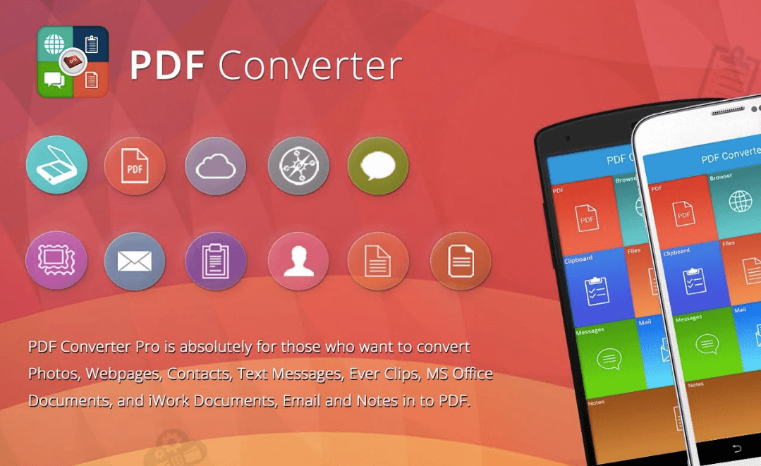 convertir pdf android