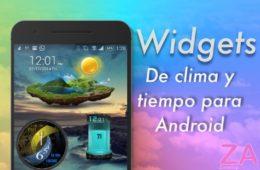 Aplicaciones clima android