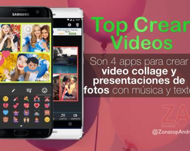 Video collage presentaciones app