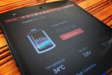 ahorrar optimizar bateria android