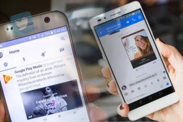 aplicaciones lite facebook twitter