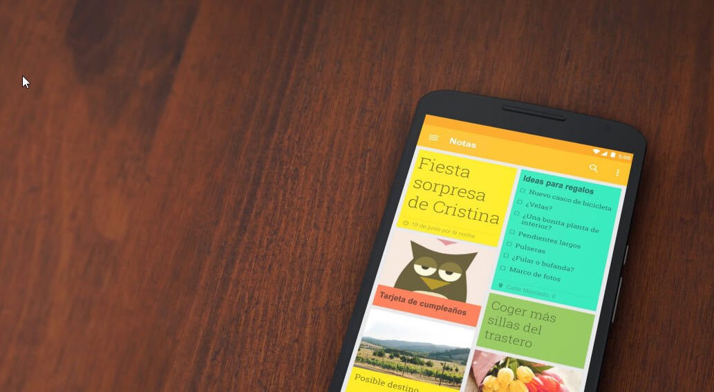 Mejores trucos Google Keep
