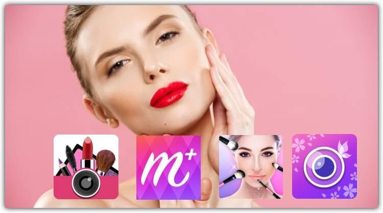 aplicacion de maquillaje para fotos