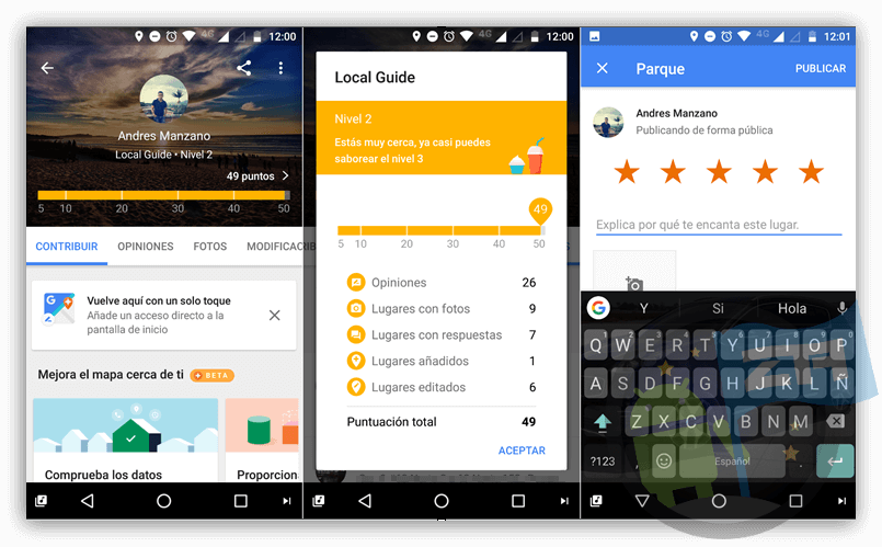 Ganas premios con Local Guides de Google Maps