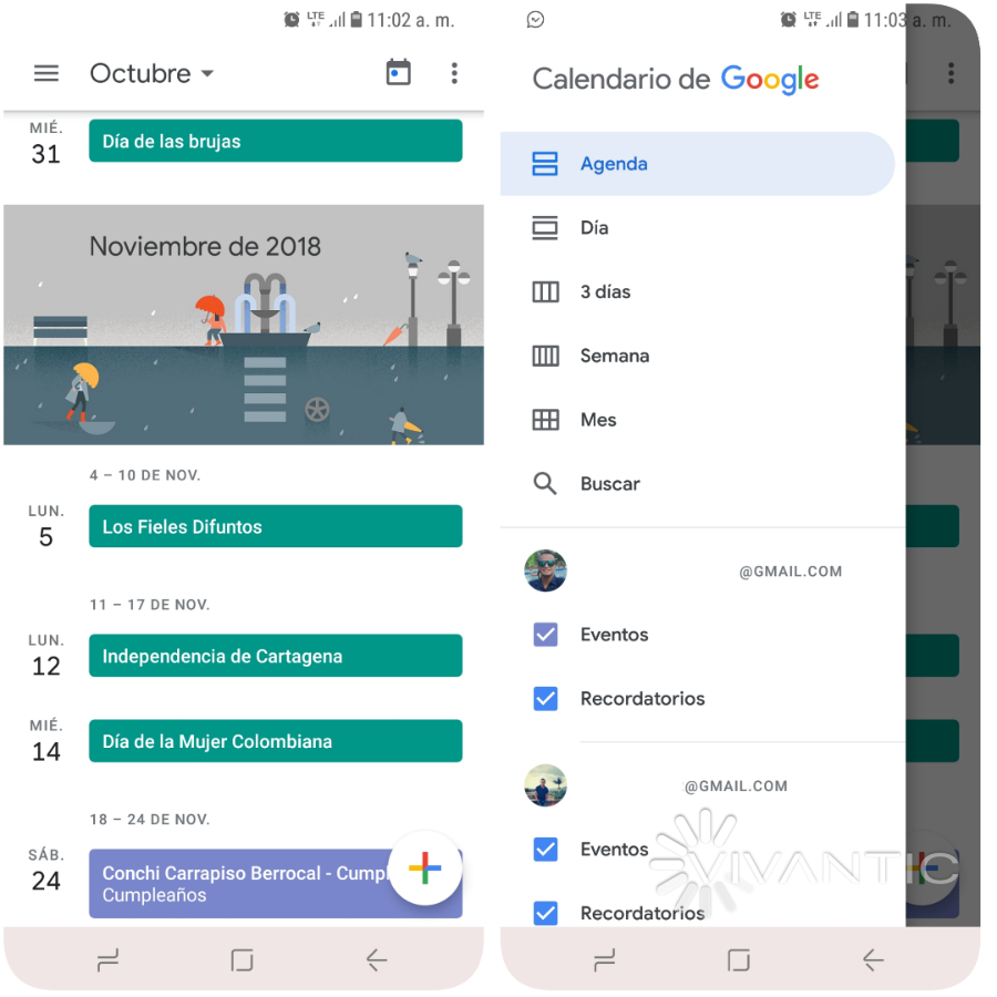 Calendario Android.Top10 Mejores Calendarios Para Android 2018 Widgets