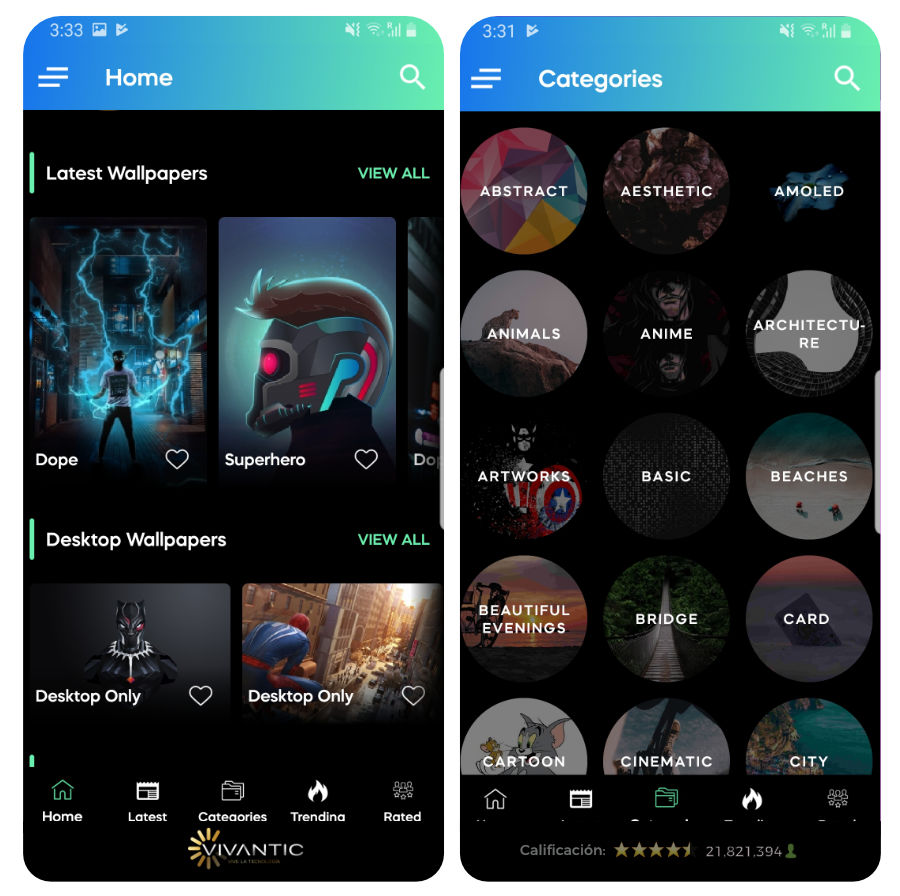 10 Mejores Apps De Wallpapers Hd Para Android 2019
