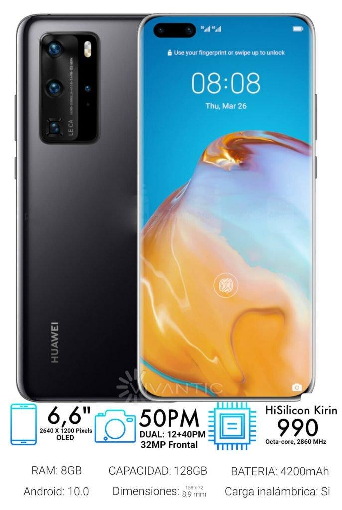 Huawei P40 Pro Especificaciones