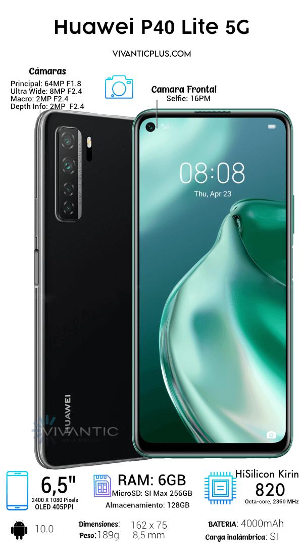 Huawei P40 Lite 5G  Especificaciones