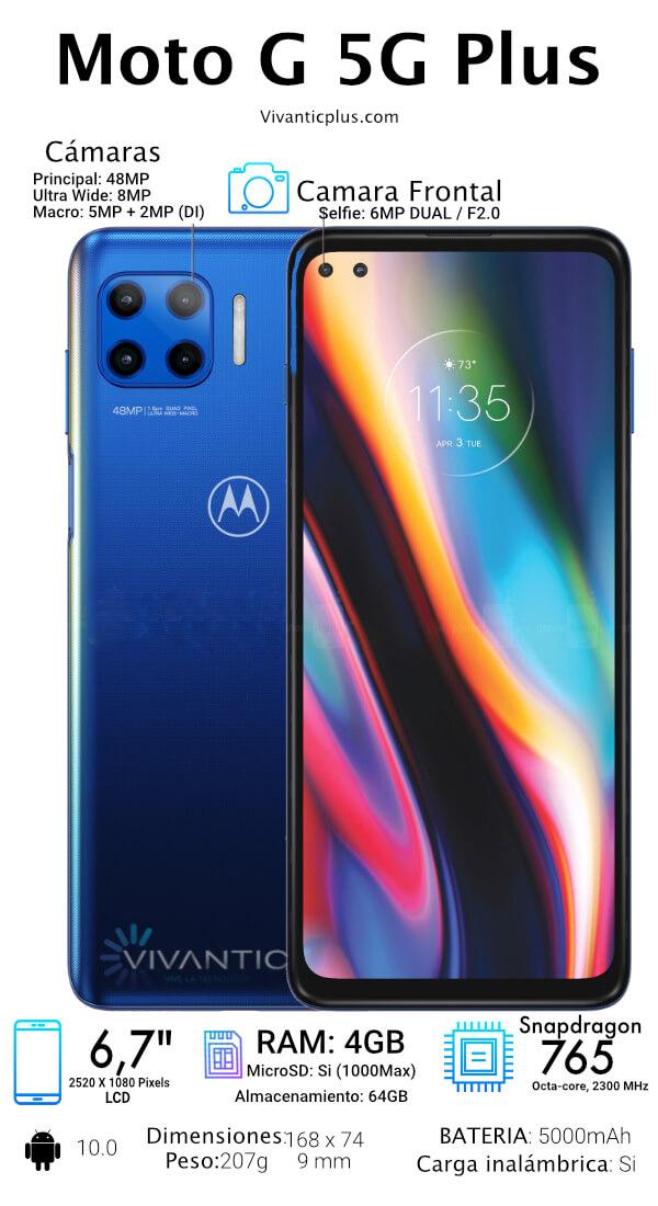 Motorola g 5G Plus Especificaciones