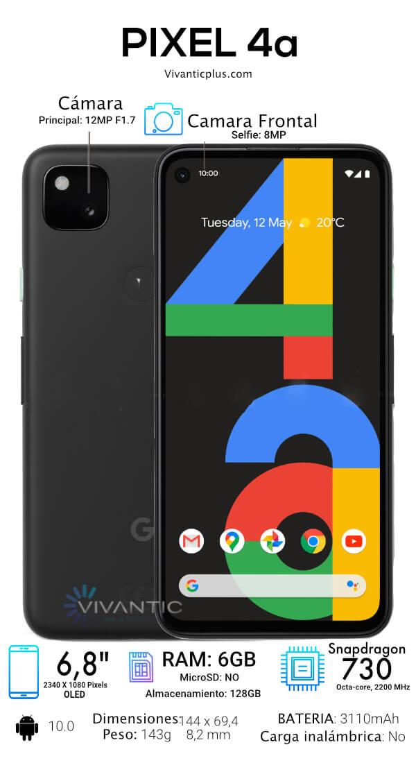 Google Pixel 4a Especificaciones