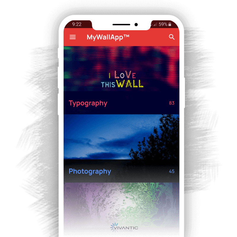 Mobile Wallpapers application