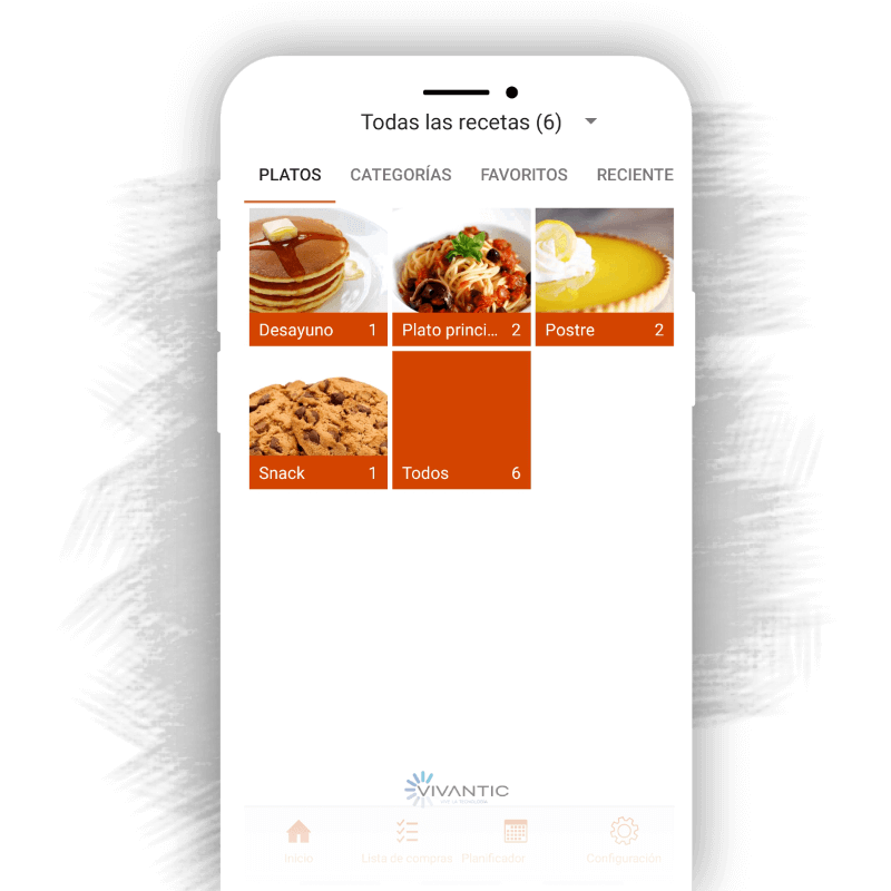App Planificar comidas