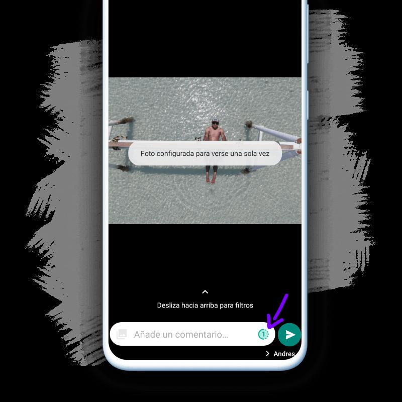 Enviar fotos que desaparecen WhatsApp