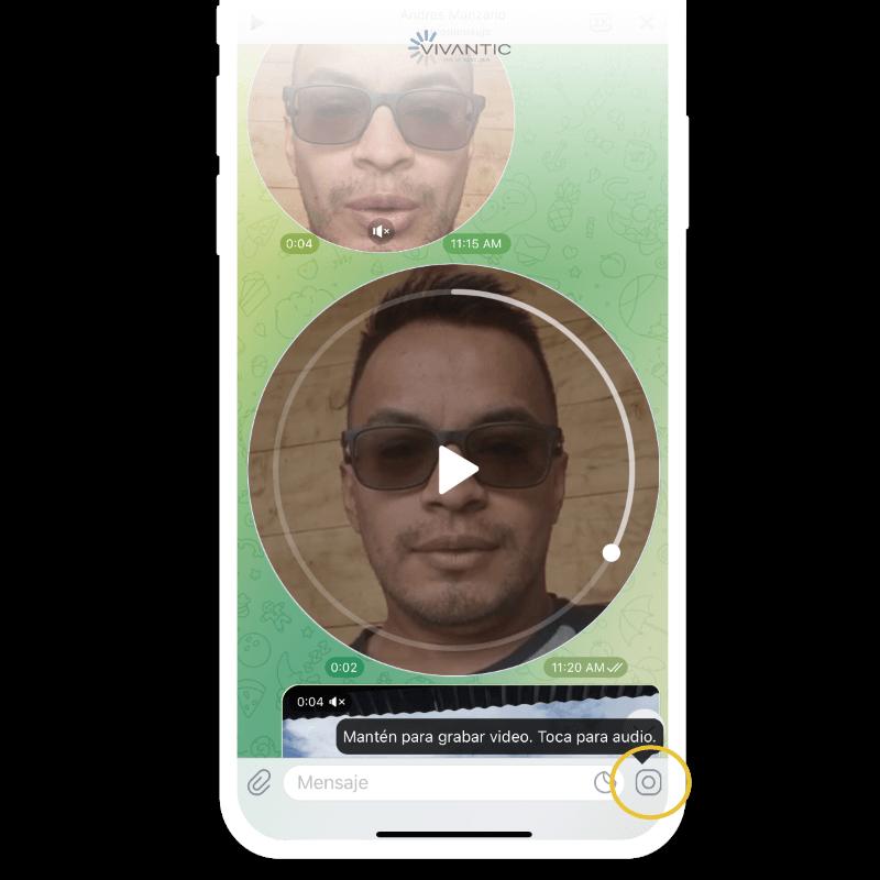 Enviar video mensaje